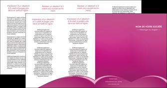 exemple depliant 4 volets  8 pages  web design texture contexture structure MLGI95342