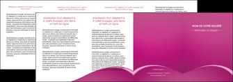 faire depliant 4 volets  8 pages  web design texture contexture structure MLGI95344