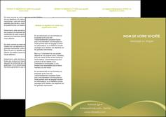 imprimerie depliant 3 volets  6 pages  web design texture contexture structure MLGI95354