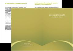realiser depliant 2 volets  4 pages  web design texture contexture structure MLGI95368