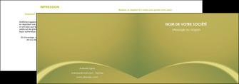 realiser depliant 2 volets  4 pages  web design texture contexture structure MLGI95374
