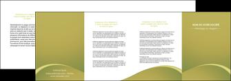 impression depliant 4 volets  8 pages  web design texture contexture structure MLGI95390