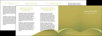 impression depliant 4 volets  8 pages  web design texture contexture structure MLGI95396