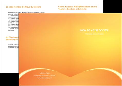 imprimerie depliant 2 volets  4 pages  telephonie texture contexture structure MLGI95434
