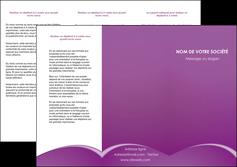 personnaliser maquette depliant 3 volets  6 pages  telephonie texture contexture structure MLGI95458