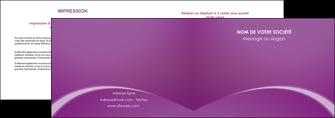 personnaliser modele de depliant 2 volets  4 pages  telephonie texture contexture structure MLGI95476