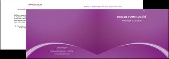 faire depliant 2 volets  4 pages  telephonie texture contexture structure MLGI95478