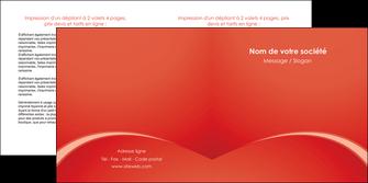 personnaliser modele de depliant 2 volets  4 pages  web design texture contexture structure MIDCH95514