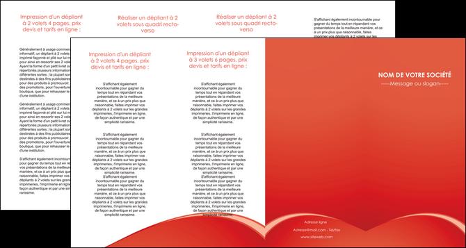 imprimer depliant 4 volets  8 pages  web design texture contexture structure MLGI95550