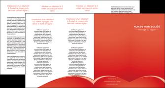 imprimer depliant 4 volets  8 pages  web design texture contexture structure MIDCH95550