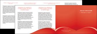 modele en ligne depliant 4 volets  8 pages  web design texture contexture structure MIDCH95552