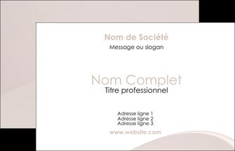 Modele Carte De Visite 85 X 55 Cm Personnaliser