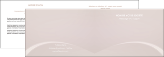 impression depliant 2 volets  4 pages  web design texture contexture structure MLIG95580
