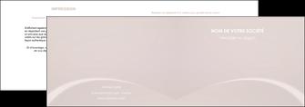 imprimerie depliant 2 volets  4 pages  web design texture contexture structure MIF95582