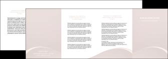 imprimer depliant 4 volets  8 pages  web design texture contexture structure MIF95598