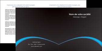 imprimerie depliant 2 volets  4 pages  texture contexture structure MIF95618
