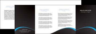faire depliant 4 volets  8 pages  texture contexture structure MIF95650