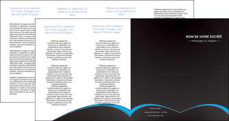 faire modele a imprimer depliant 4 volets  8 pages  texture contexture structure MIF95654