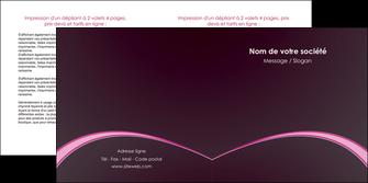 personnaliser maquette depliant 2 volets  4 pages  reseaux texture contexture structure MLGI95722