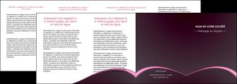 imprimer depliant 4 volets  8 pages  reseaux texture contexture structure MLGI95760