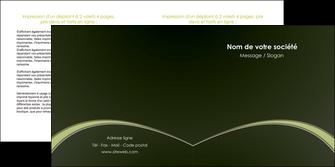 exemple depliant 2 volets  4 pages  web design texture contexture structure MID95774