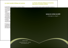 faire depliant 2 volets  4 pages  web design texture contexture structure MID95784