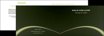 faire depliant 2 volets  4 pages  web design texture contexture structure MID95790