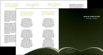 creer modele en ligne depliant 4 volets  8 pages  web design texture contexture structure MID95810