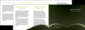 faire modele a imprimer depliant 4 volets  8 pages  web design texture contexture structure MID95812