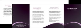 exemple depliant 4 volets  8 pages  texture contexture structure MLGI95910