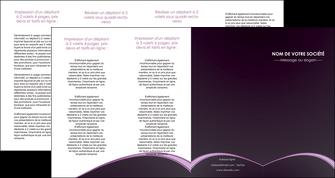 faire modele a imprimer depliant 4 volets  8 pages  texture contexture structure MLGI95914