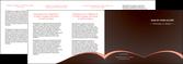 personnaliser modele de depliant 4 volets  8 pages  texture contexture structure MLGI95968