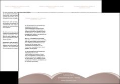 personnaliser maquette depliant 3 volets  6 pages  texture contexture structure MLGI95978