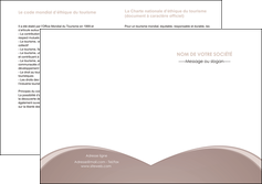 creer modele en ligne depliant 2 volets  4 pages  texture contexture structure MLGI95992