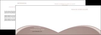 exemple depliant 2 volets  4 pages  texture contexture structure MLGI95996