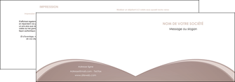 impression depliant 2 volets  4 pages  texture contexture structure MLGI95998