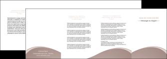 imprimer depliant 4 volets  8 pages  texture contexture structure MLGI96014