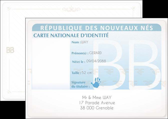 modele en ligne flyers carte identite garcon MLIG96344