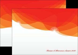creation graphique en ligne flyers best meilleur voeux 2020 abstract art MIF97468