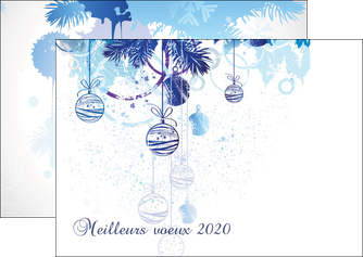 faire modele a imprimer flyers carte de voeux 2020 voeux nouvelle annee cartes de voeux MIF97496