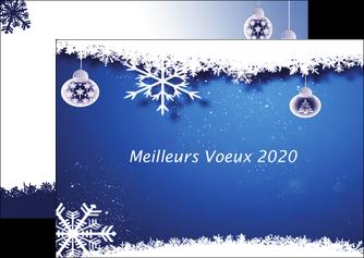 modele en ligne flyers carte de voeux 2020 carte nouvel an 2020 nouvelle annee voeux MLGI98092