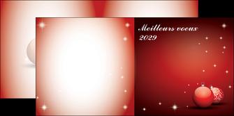 imprimerie depliant 2 volets  4 pages  carte de voeux 2029 voeux nouvelle annee cartes de voeux MLGI98582