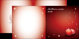 maquette en ligne a personnaliser depliant 2 volets  4 pages  carte de voeux 2029 voeux nouvelle annee cartes de voeux MLGI98584