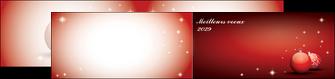 realiser depliant 2 volets  4 pages  carte de voeux 2029 voeux nouvelle annee cartes de voeux MLGI98586