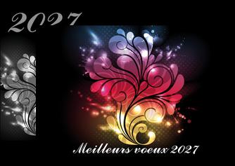creer modele en ligne flyers carte de voeux 2027 voeux nouvelle annee cartes de voeux MLGI98592