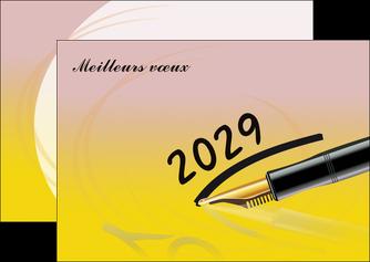 imprimer flyers carte de voeux carte postale fete MLGI98826